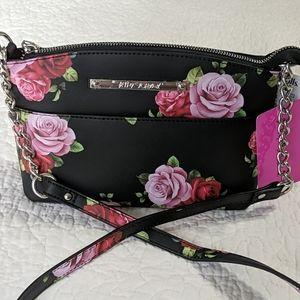 Betsey Johnson Roses Crossbody Bag